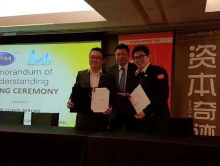 MOU Signed between IPM Global Berhad and Snow City Resort Development Berhad